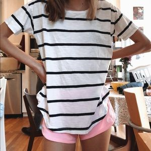madewell stripe shirt